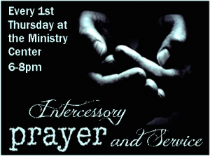 Intercessory Prayer and Service @ Ministry Center | Glendora | California | United States