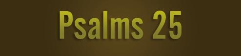 Psalms-25