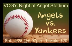 Angels vs. Yankees Game @ Angel Stadium | Anaheim | California | United States