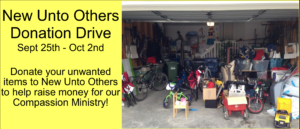 New Unto Others Donation Drive