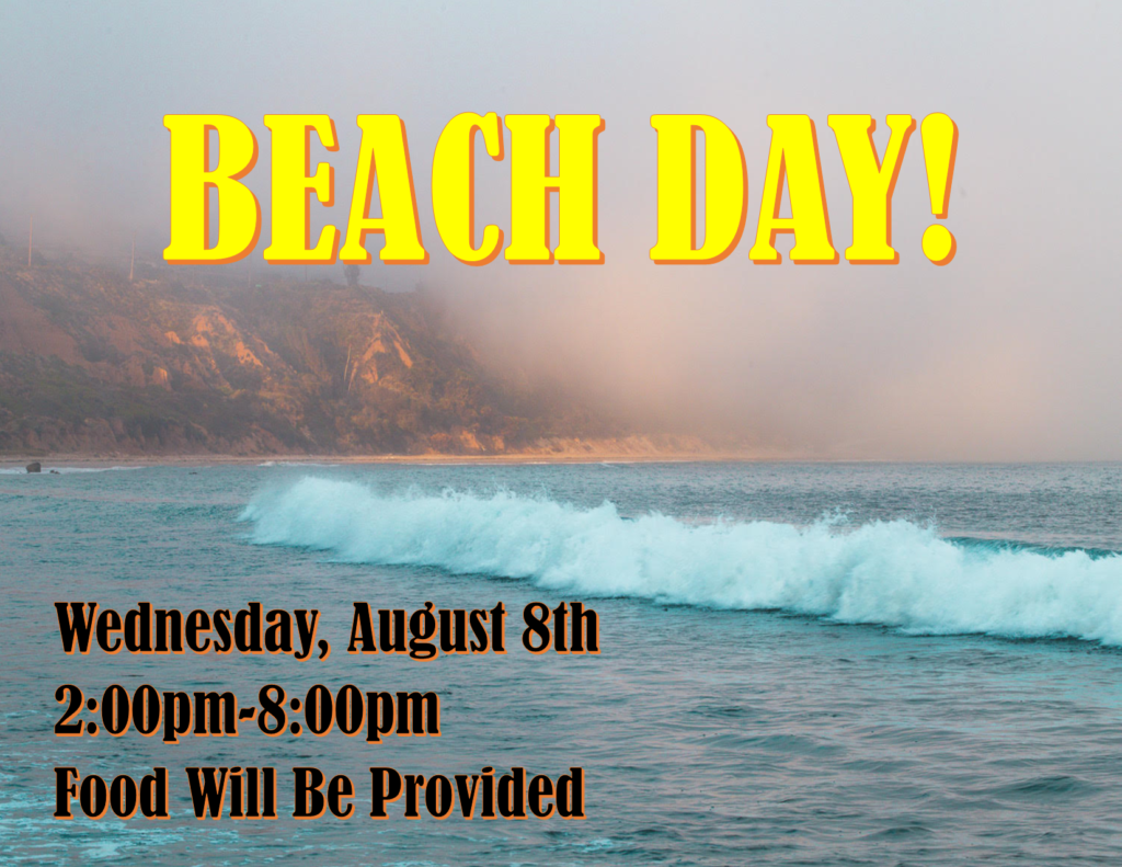 Youth End of Summer Beach Day!