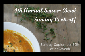 Family Sunday: 4th Annual Souper-Bowl Sunday Cook Off