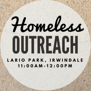 Homeless Outreach with the Youth