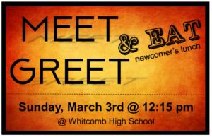 Meet, Greet & Eat Lunch