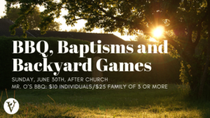 Family Sunday BBQ & Baptisms