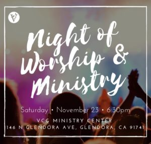 Night of Worship and Ministry