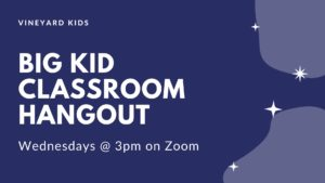 Vineyard Kids Big Kids Classroom Hangout!