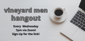 Men's Zoom Gatherings