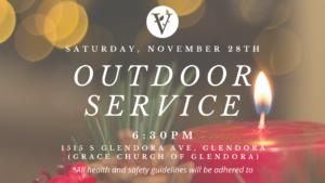 Outdoor Service!