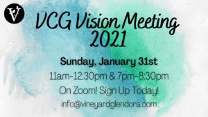 VCG Vision Meeting  2021