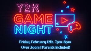 Y2K Game Night