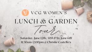 Vineyard Women Lunch & Garden Tour