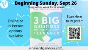 3 Big Questions Book Study