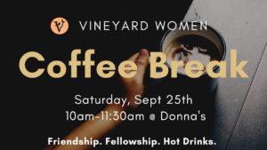 Vineyard Women's Coffee Break