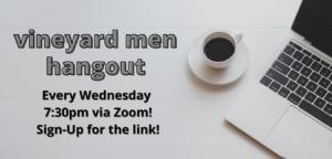 Men's Zoom Gatherings