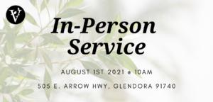 In-Person Service!